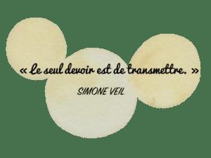 Aquarelle Valérie Faure & citation S Veil pour illustrer la méthode